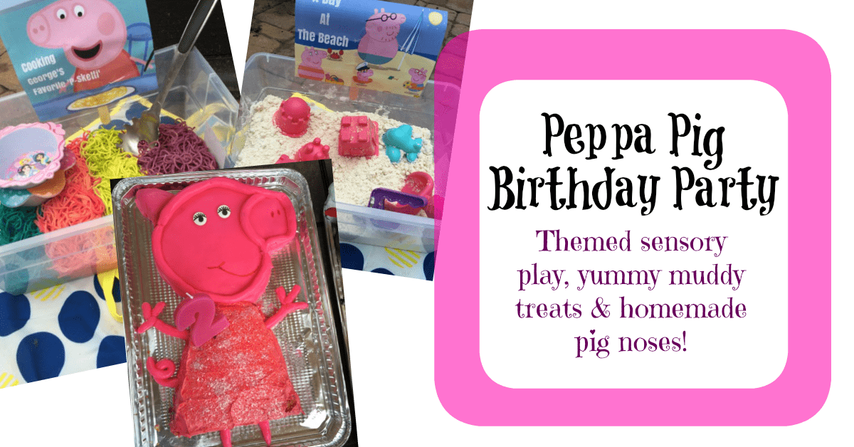 Peppa Pig Birthday Party for Kids