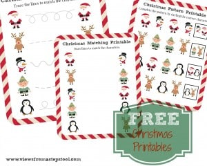 Free Christmas Printables to fill the witching hour!