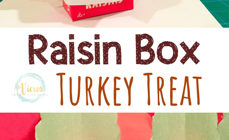 Raisin Box Turkeys: A Thanksgiving Treat for Kids