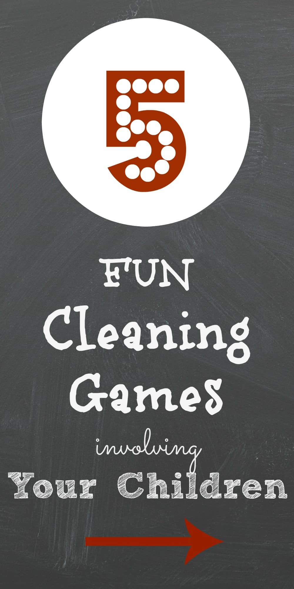 Fun Cleaning Games Involving Your Children