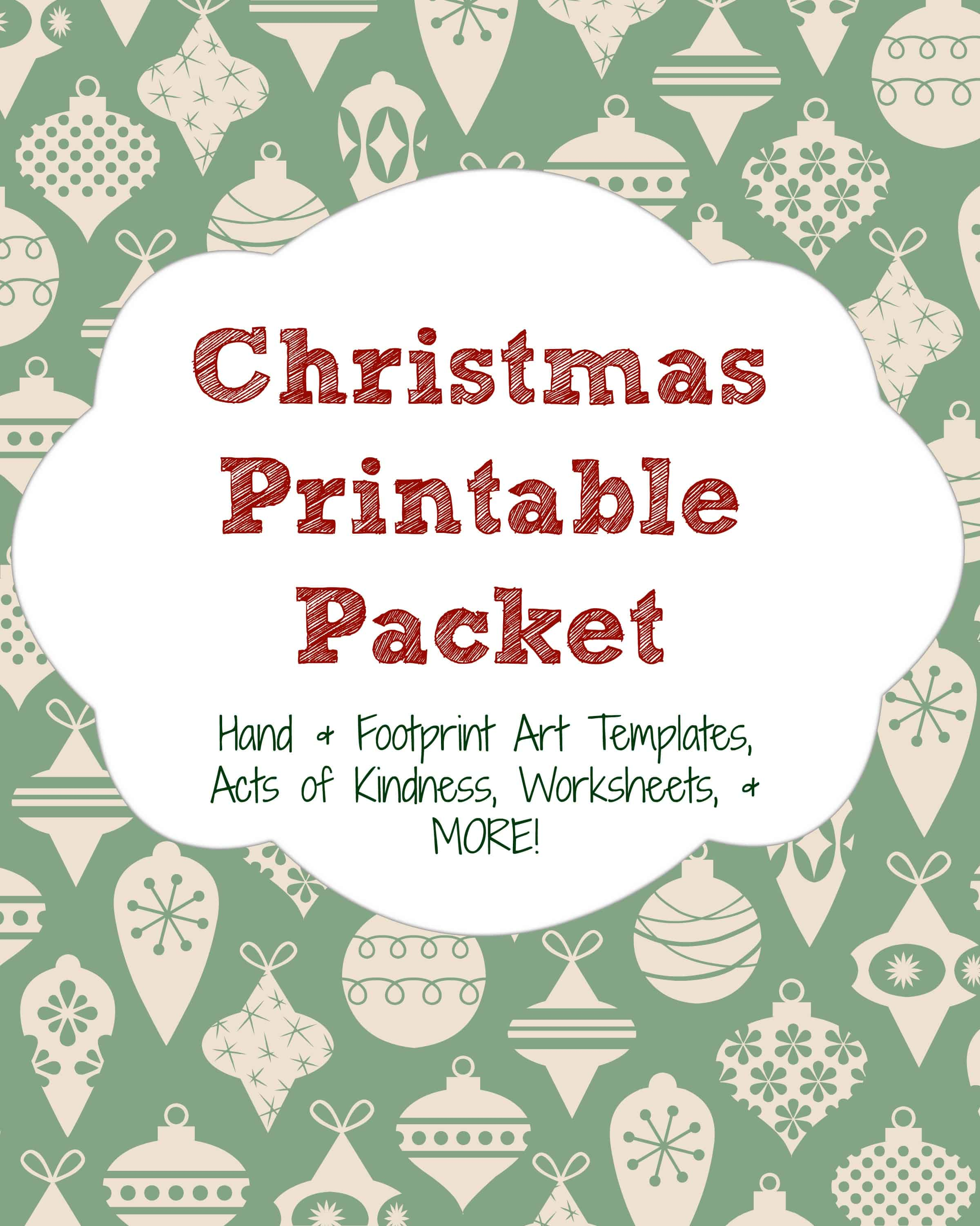 Christmas Printable Packet