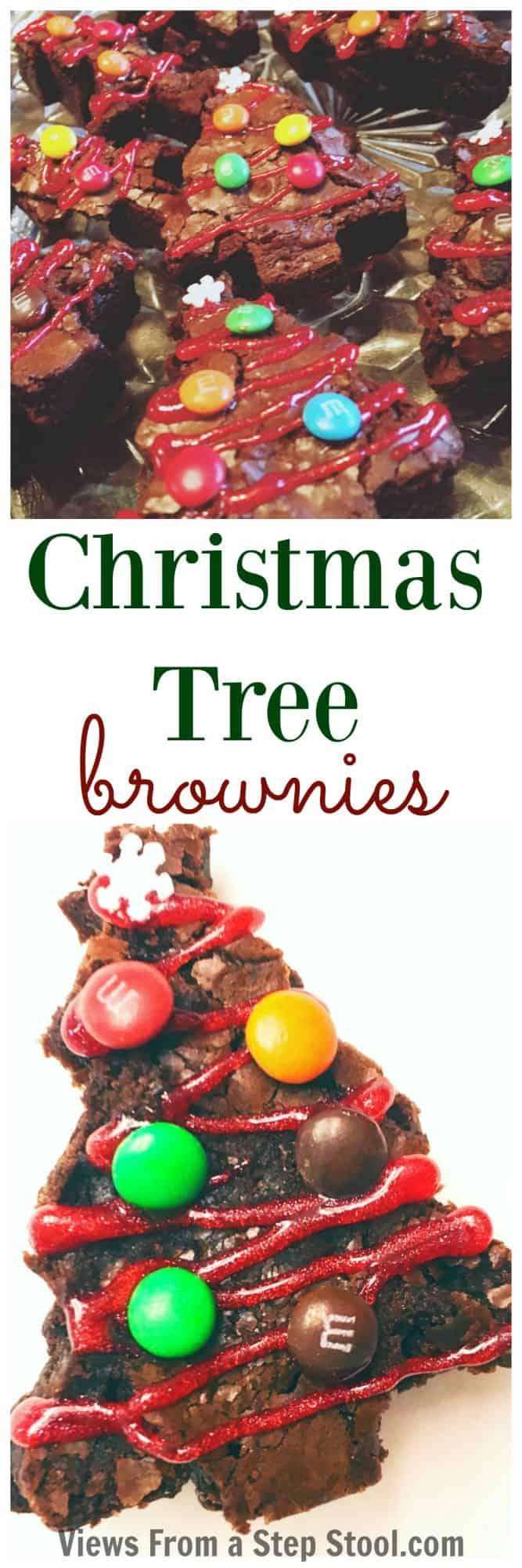 Christmas Tree Brownies: Kid-Made Holiday Treats