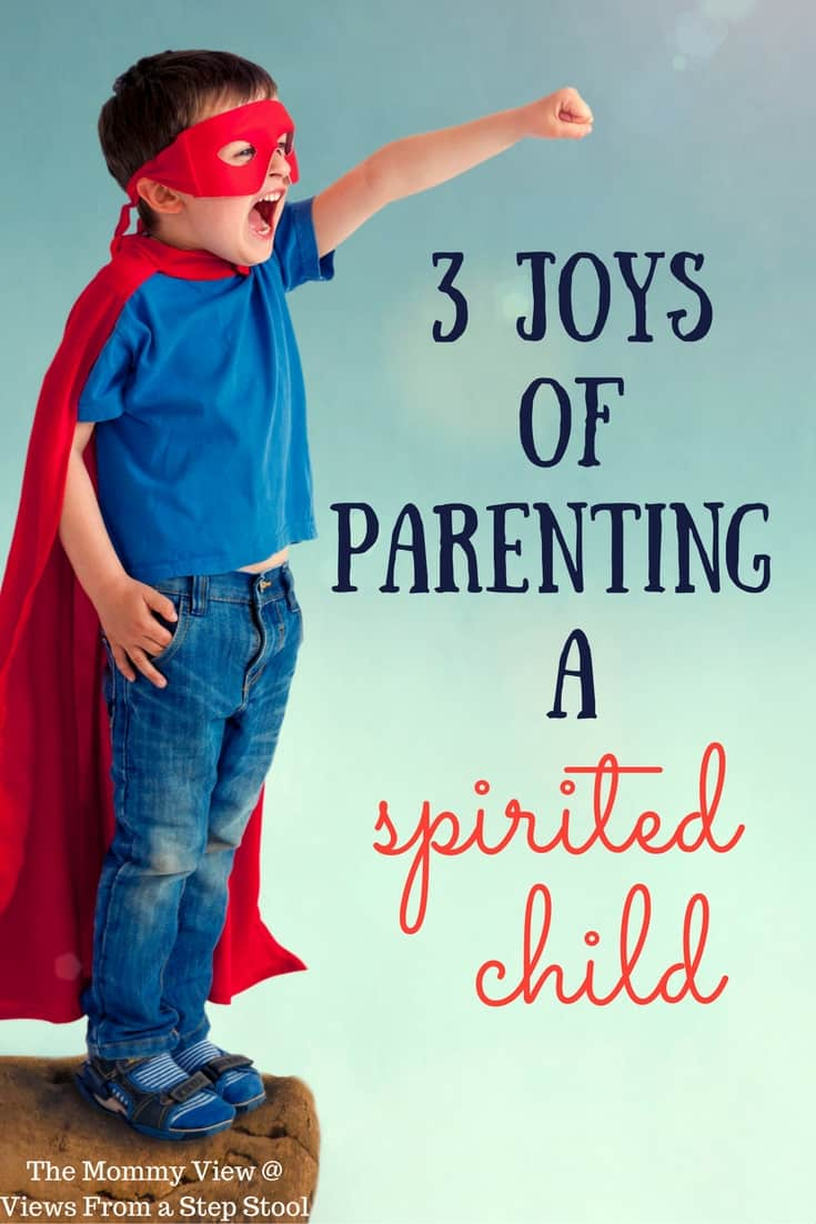 Parenting a spirited child brings a roller coaster of emotions with intense highs and lows. Here are three beautiful character traits of spirited kids.