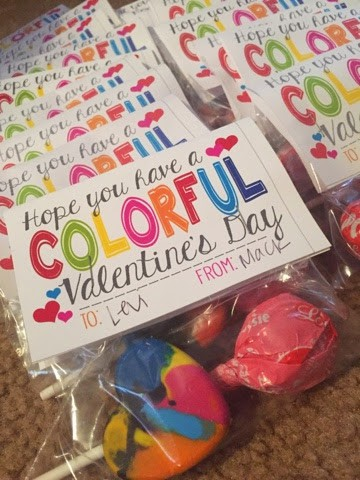 DIY Melted Crayon Valentines