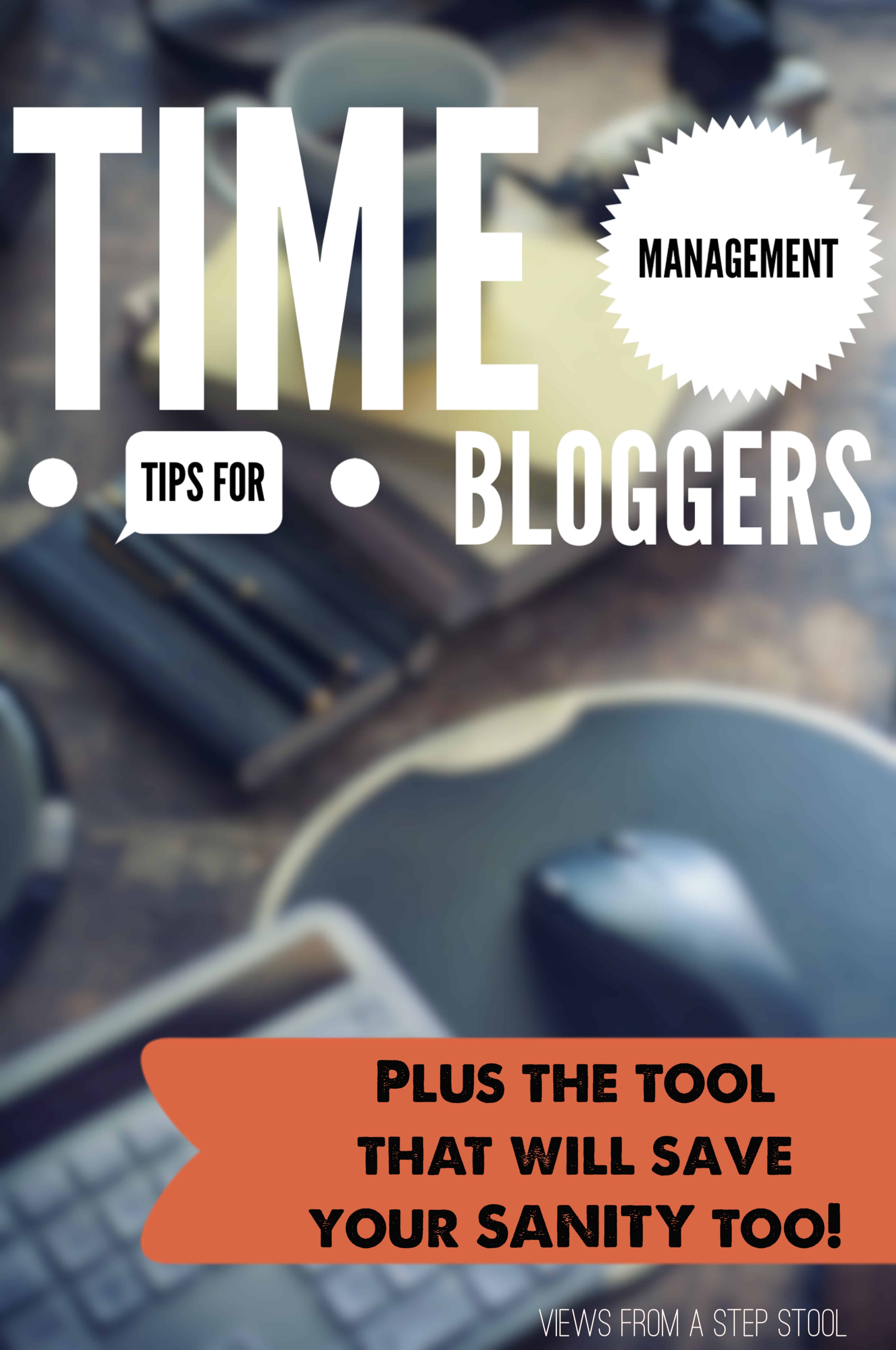 Blogging can be overwhelming. There is SO much that goes into running a successful blog besides the actual writing. Here are a few of my tips for time management and how they have helped me to grow my blog over the last few months. PLUS, my FAVORITE time-saving tool that saves my sanity too!!