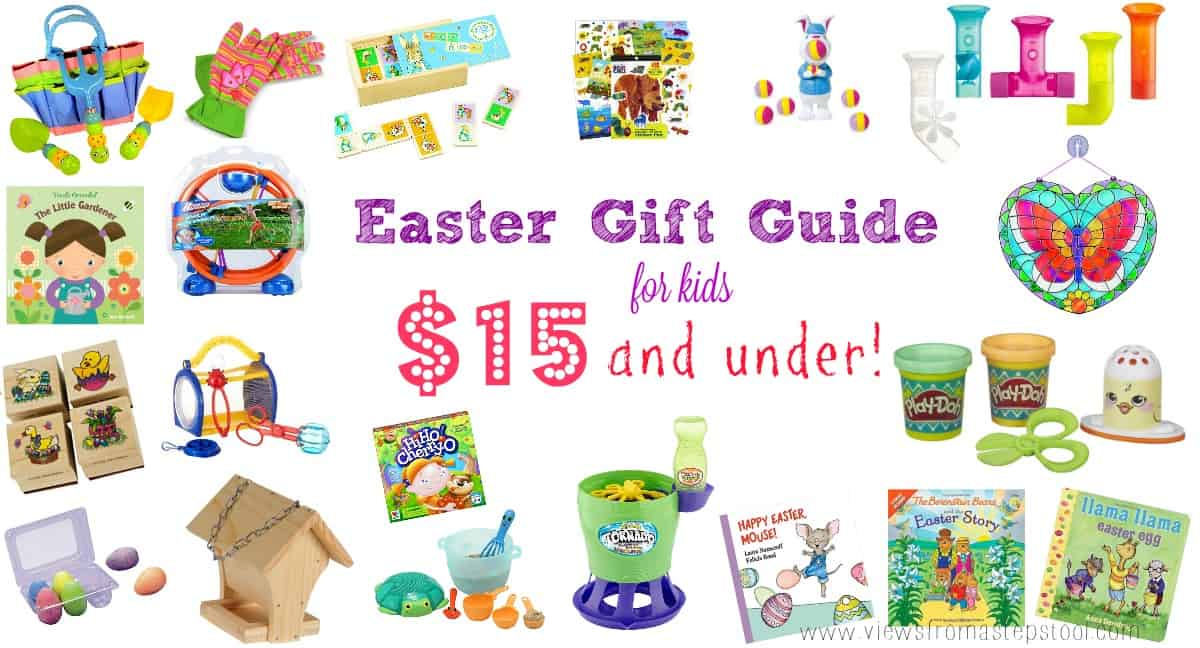 Easter Gift Guide for Kids: $15 and Under!