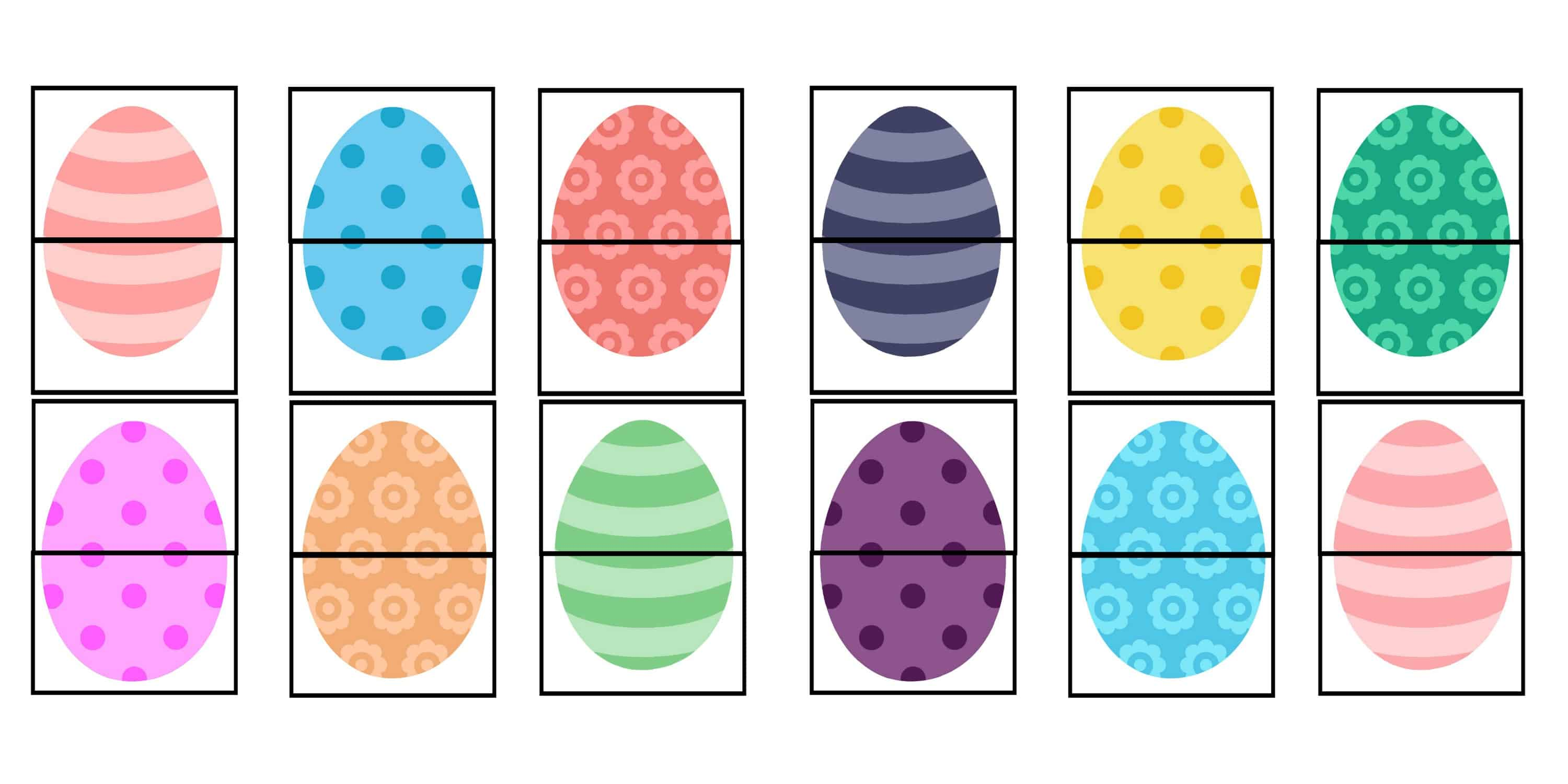 photograph relating to Printable Easter Egg known as Printable Easter Egg Video game for Babies and Preschoolers