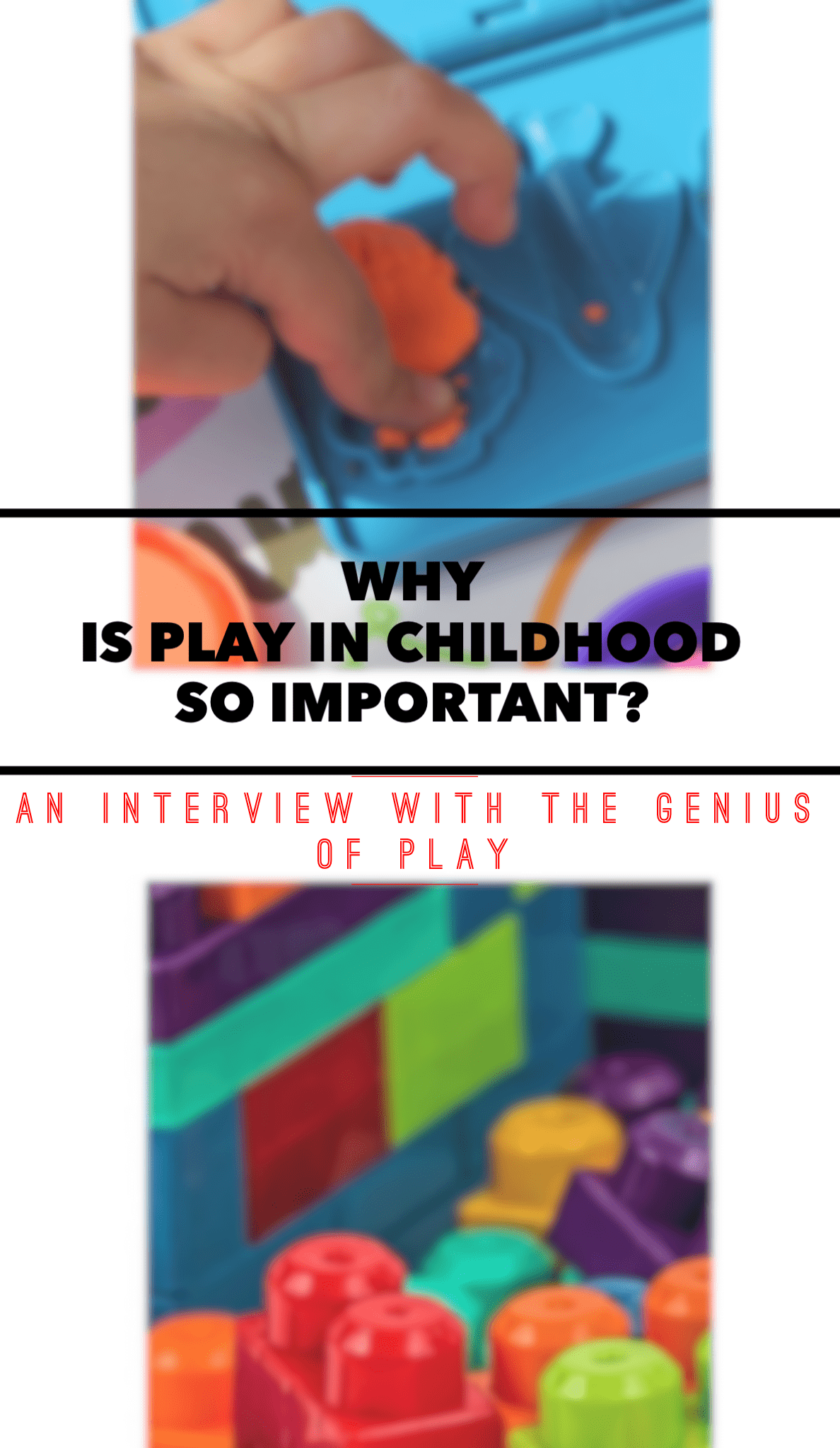 Click to read why play in childhood is so essential, and how it's changed over the years. Additionally, how parents can really foster learning and play at home!