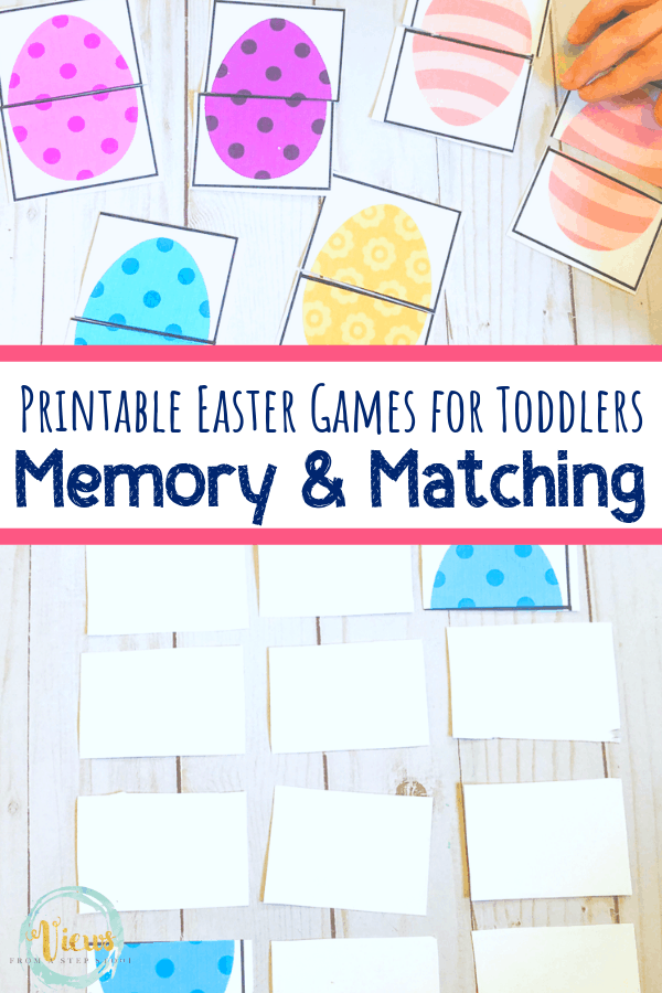 picture relating to Memory Games Printable referred to as Printable Easter Egg Activity for Babies and Preschoolers