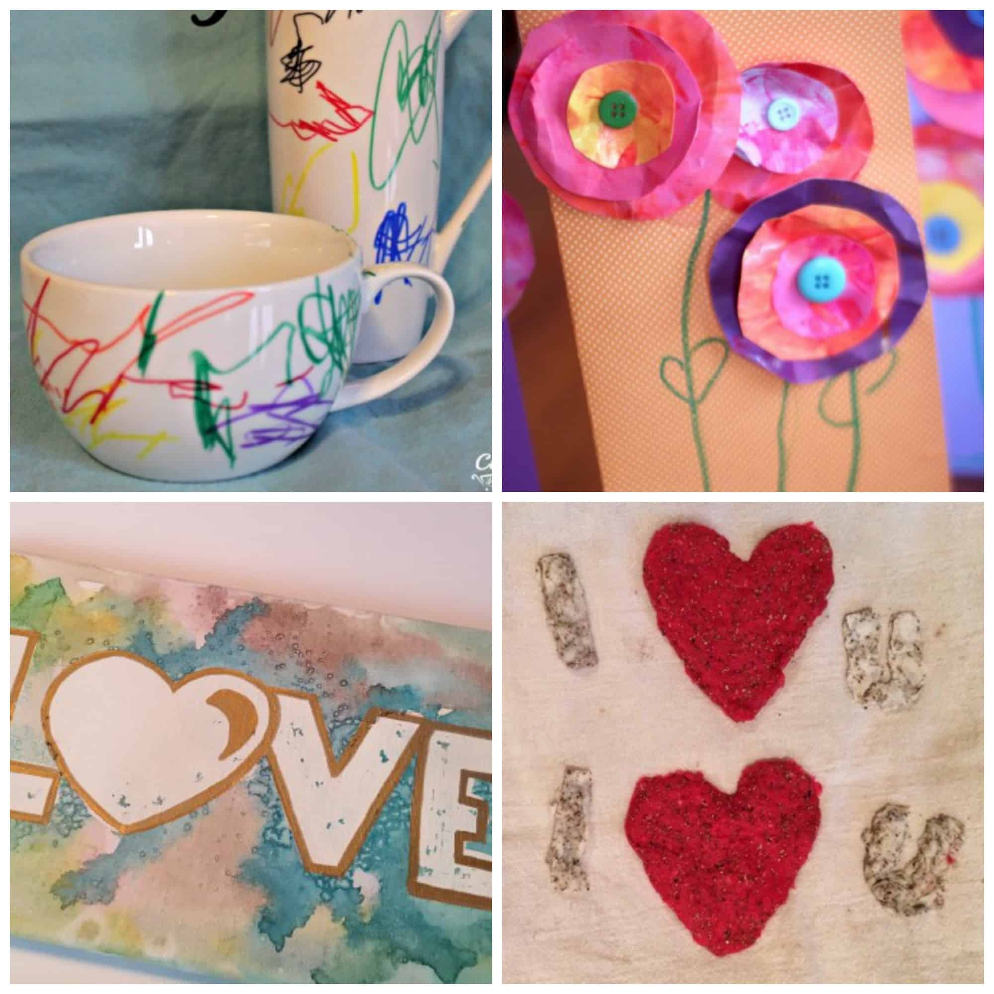 These kid-made Mother's Day gifts will WOW mom, grandma, or any other special lady in your life AND kids will take pride in making any one of these!