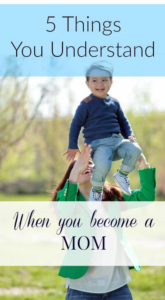 When you become a mom you gain so much perspective that you never could have had as a child. Suddenly you begin to understand so much about your own mom.