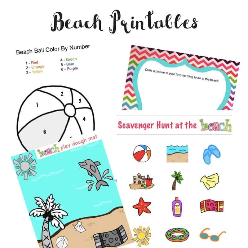 Beach Printables