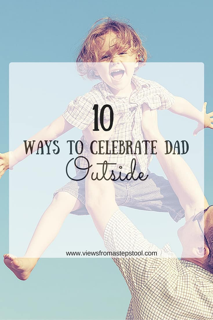There are so many awesome ways to get outside as a family, check out a few here. They can make for much better gifts than other presents for Father's Day.