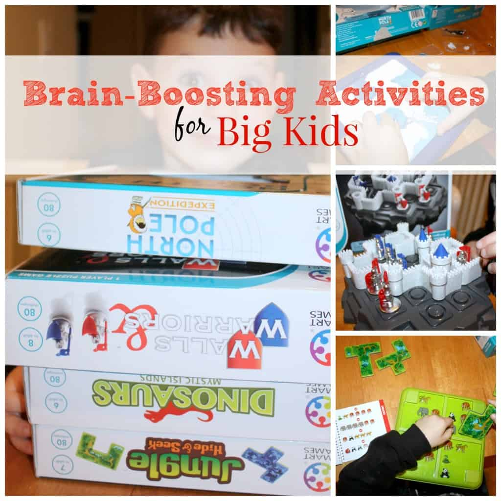 Big kids need quiet time too. Unplugged or 'plugged', there are a number of activities with brain-boosting power that kids can engage in that will offer down-time, creativity and imagination