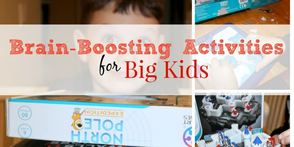 Brain-Boosting Activities for Big Kids