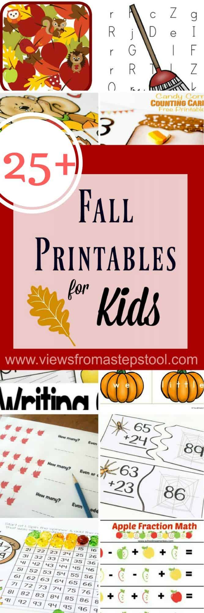 Ultimate List of Fall Printables for Kids