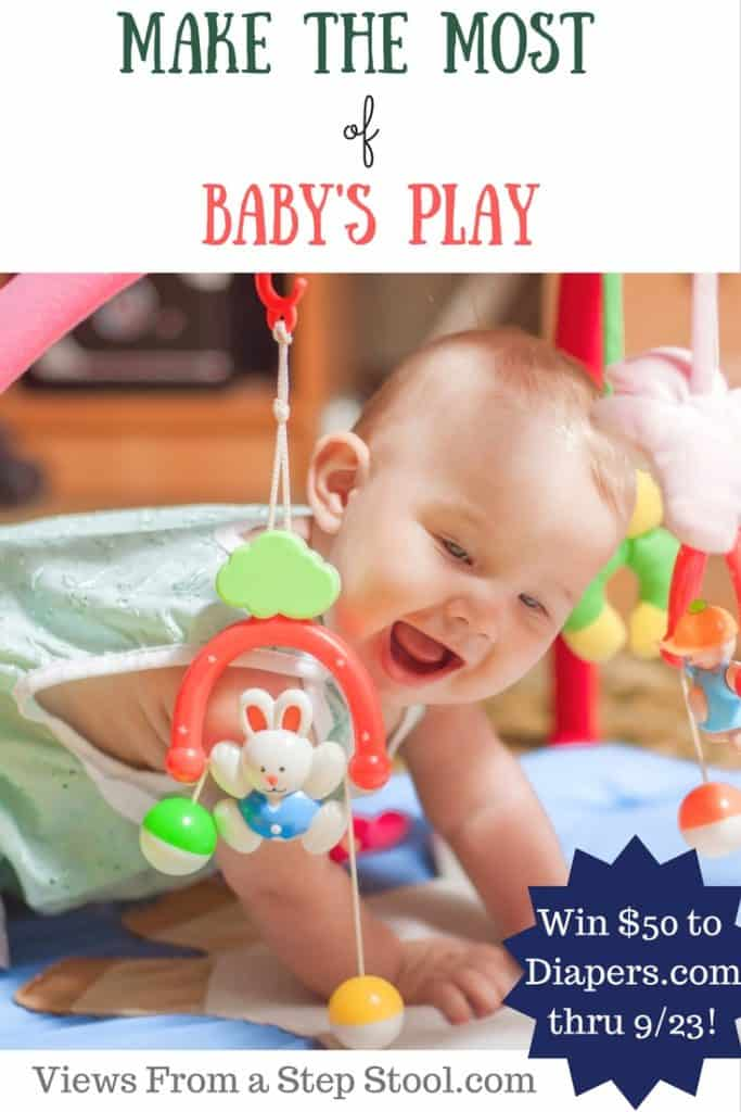 Play is essential to a baby's development. Win a gift card to buy baby games, and find simple activities to do with your baby, strengthening your bond.