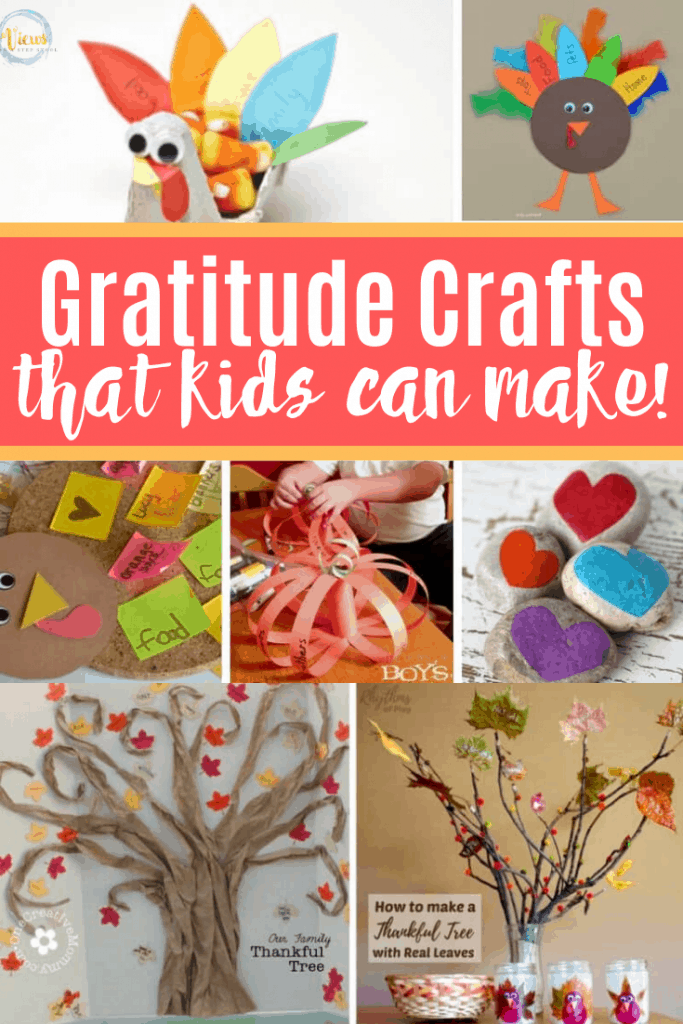 gratitude crafts for kids