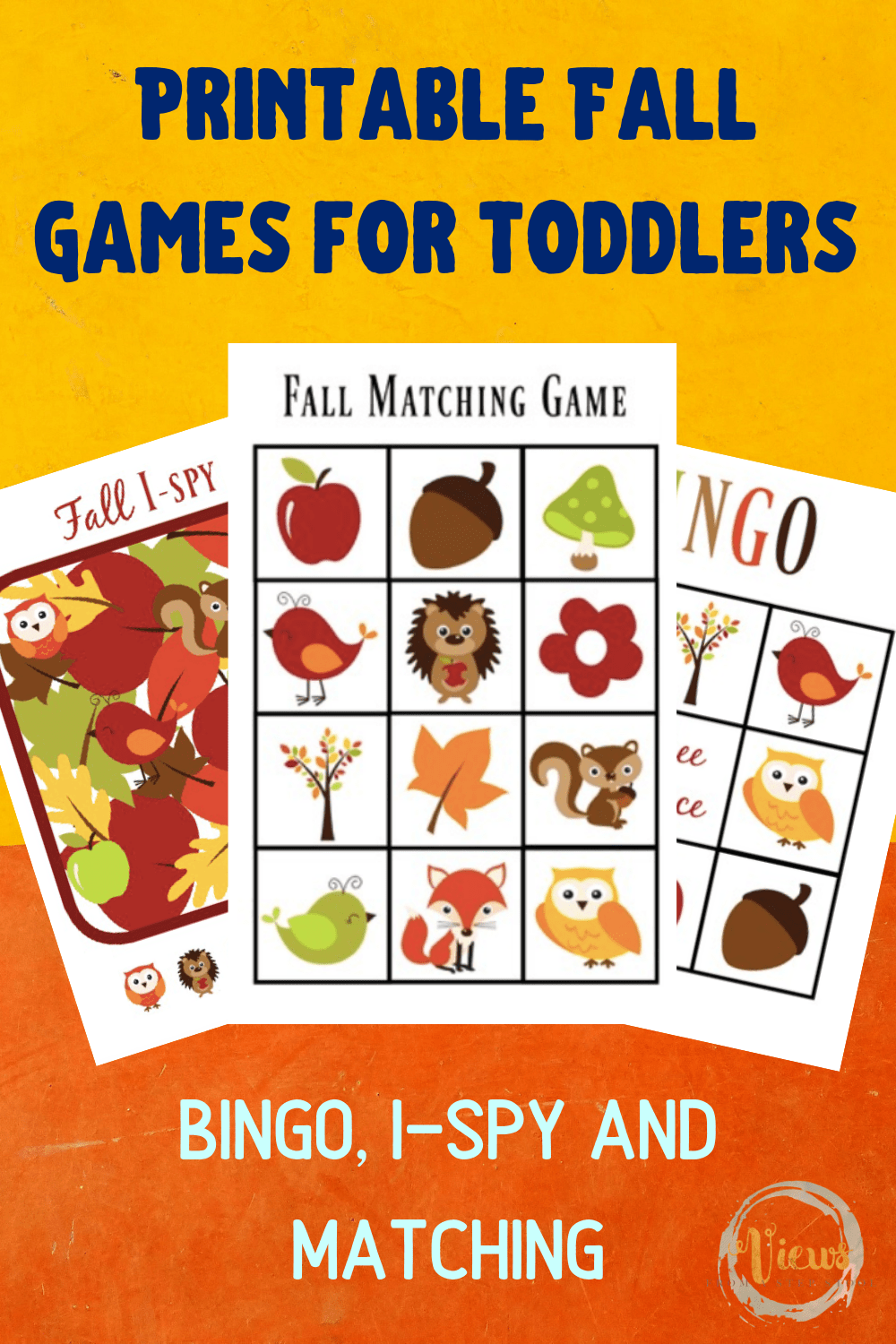 graphic about Fall Bingo Printable referred to as Printable Slide Matching Recreation, Bingo and I-Spy for