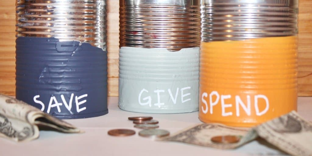 Spend, Save, Give Jars: Teach Kids How to Manage (and give) Money