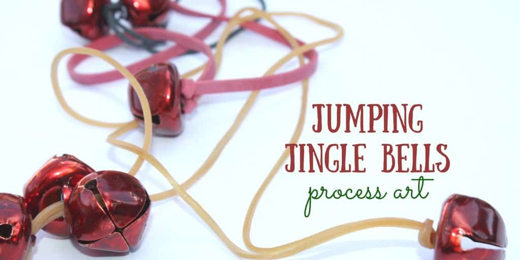 Jumping Jingle Bells Process Art