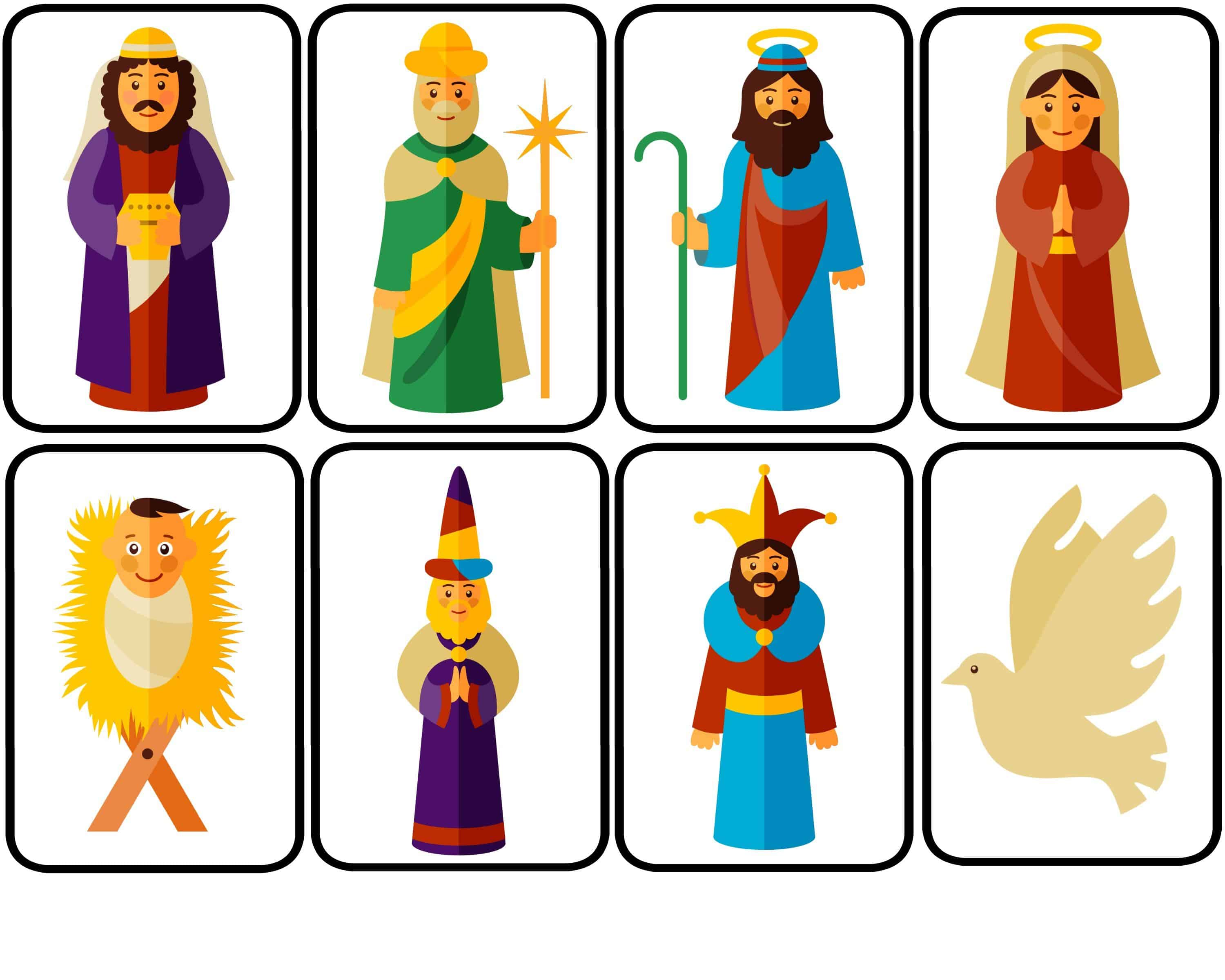 graphic about Printable Nativity named Nativity Puppets for Spectacular Participate in with Totally free Printable