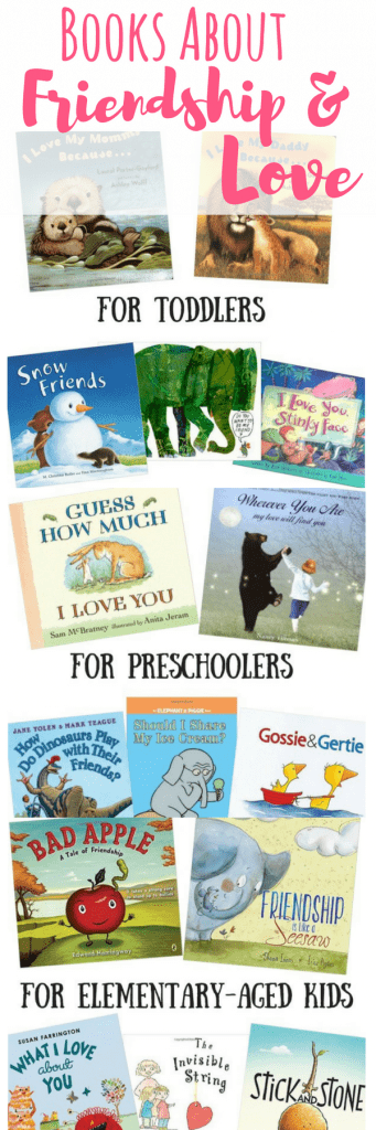 These children's books about friendship and love are great for kids. Reading allows kids to process and make sense of topics otherwise hard to understand.
