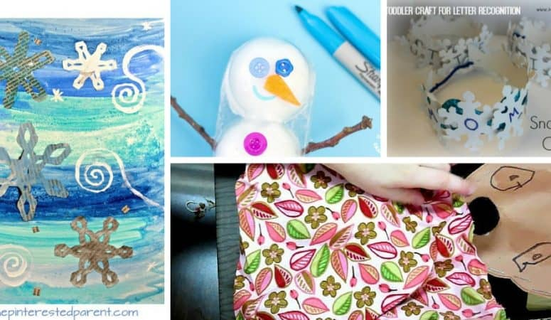 45+ Winter Crafts for Preschoolers with Common Preschool Themes