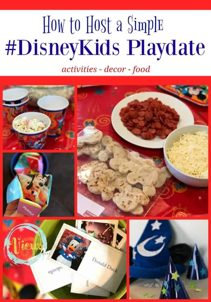 Playdates can be stressful for the busy mom. Here are some really simple ways to host a #DisneyKids playdate you will all love!