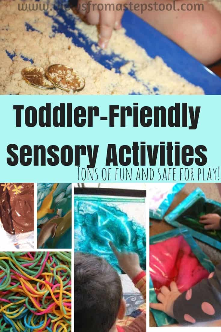 Toddler Sensory Activities Views From A Step Stool