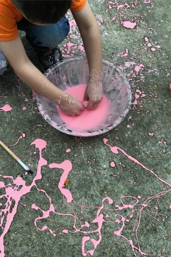 drip painting 6