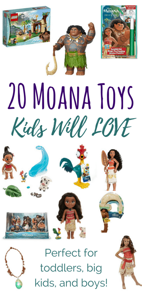 Moana toys for toddlers, Moana toys for big kids, and Moana toys for boys - an awesome collection in a large range of prices!