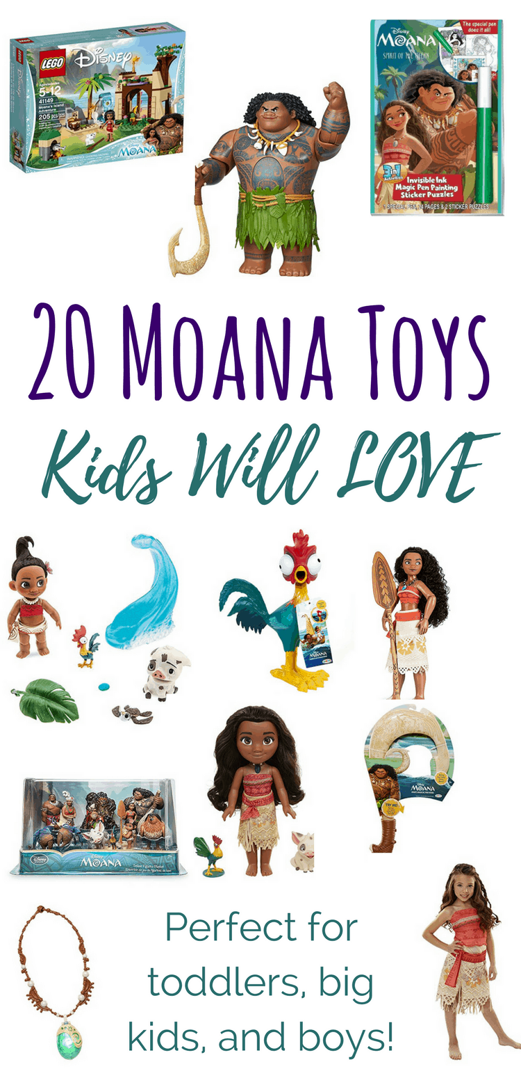 20 Moana Toys Kids Will Love