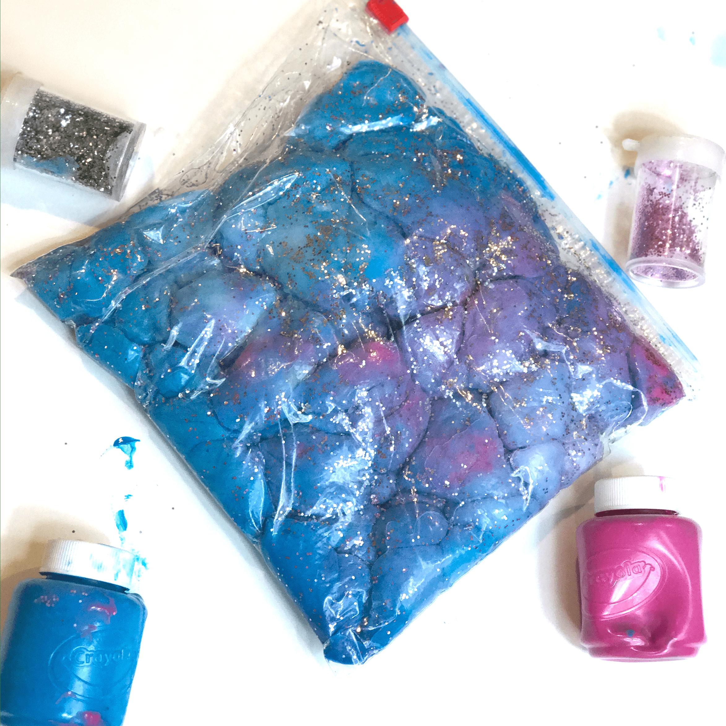 Space sensory bag 7
