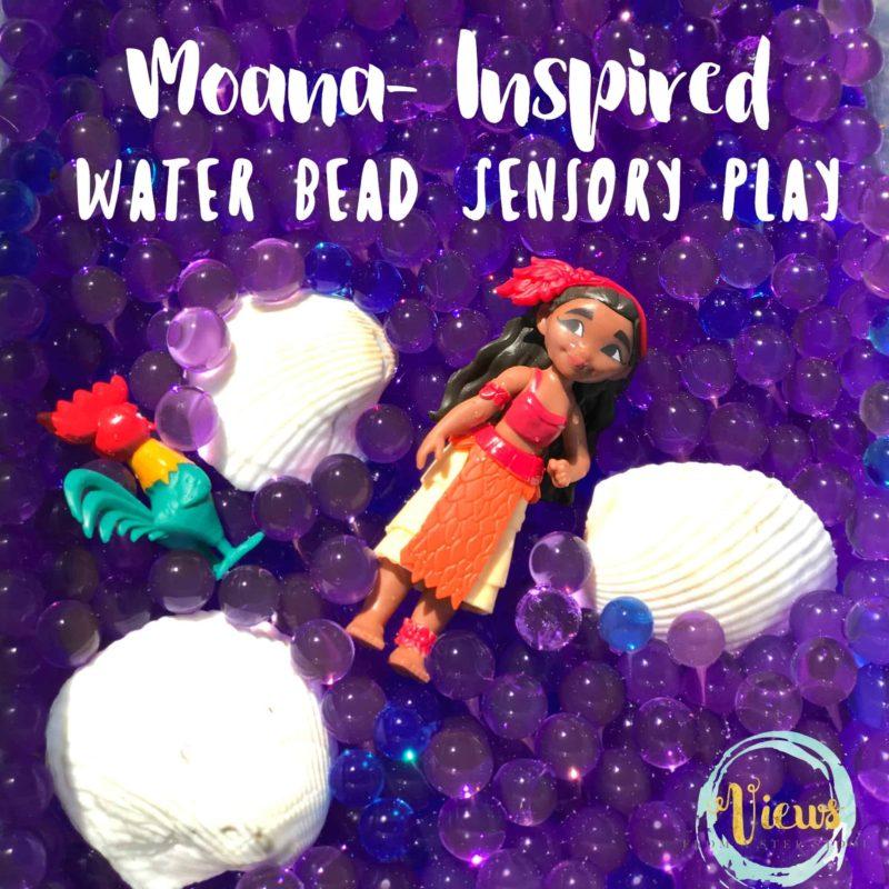 Water Bead Sensory Play square