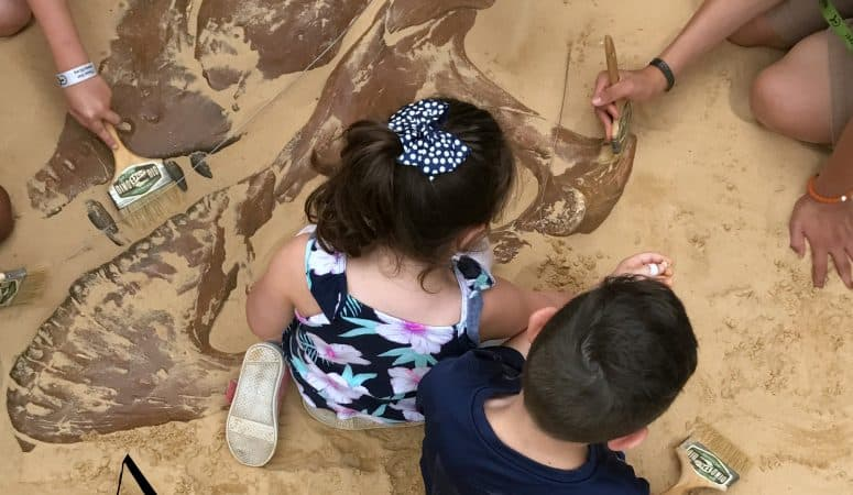 Dino Dig at the Liberty Science Center + Giveaway!