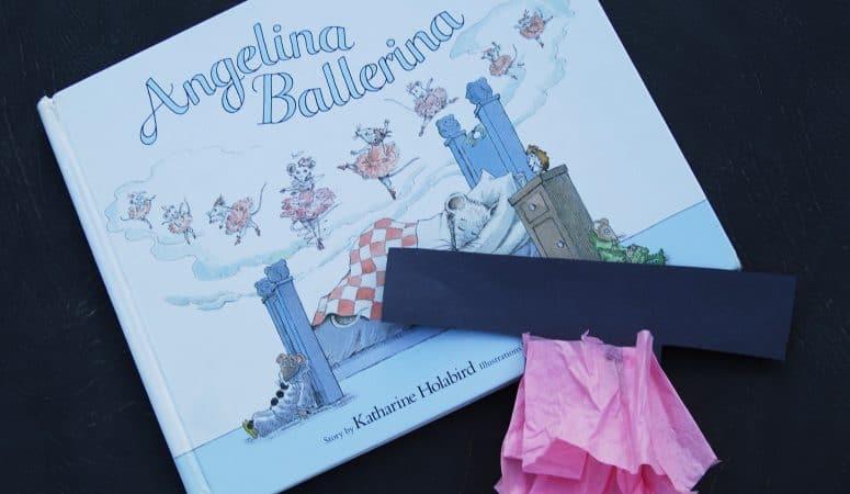Letter T Craft for Kids: T is for Tutu (plus ballerina books for kids!)