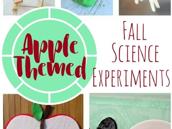 Fall Science Experiments with an Apple Theme for Kids