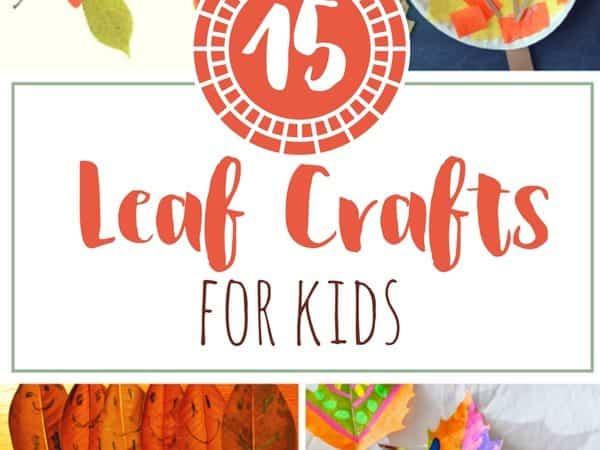 15 Fall Leaf Crafts for Kids