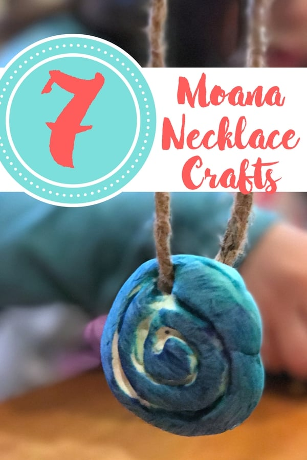 moana necklace pin
