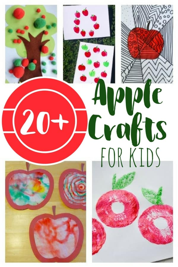 20+ Apple Crafts for Kids