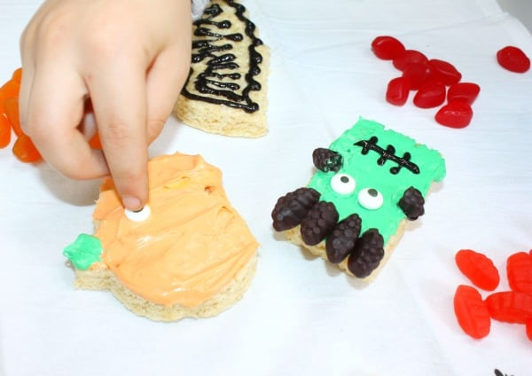 Monster Halloween Treats for Kids