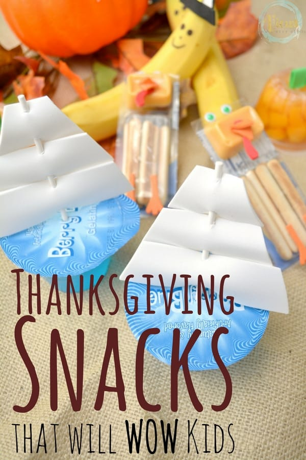 Easy Thanksgiving Snacks to WOW the Kids In Your Life