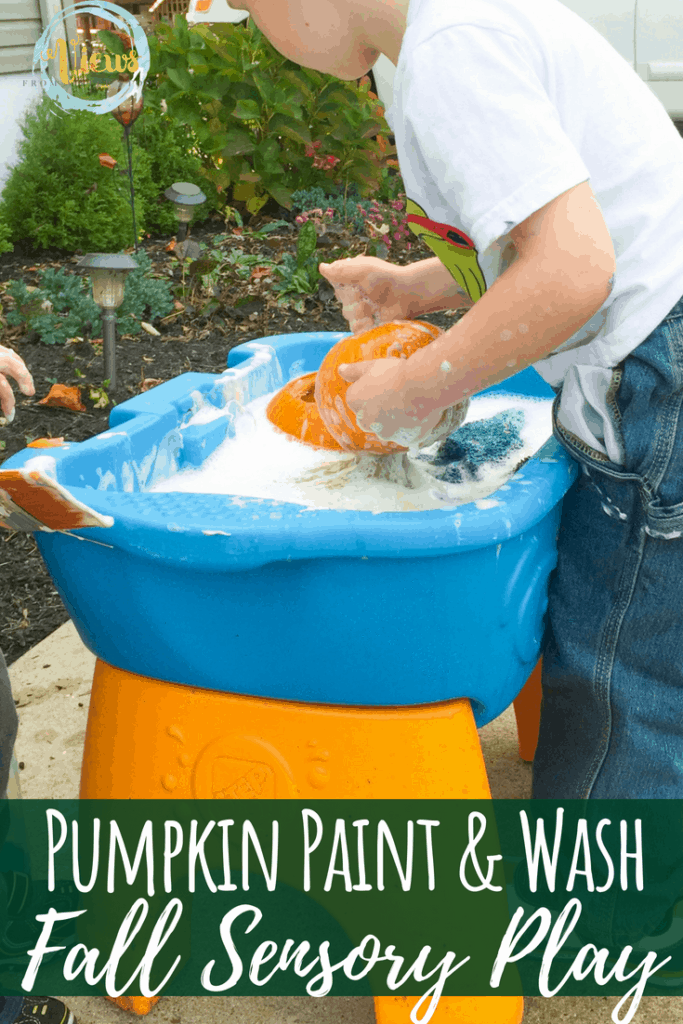 pumpkin painting sensory pin 3