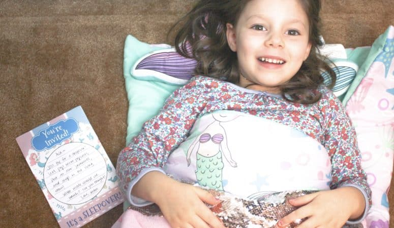 Perfect Gear for a Kids Sleepover: Plus Printable Sleepover Invitations!