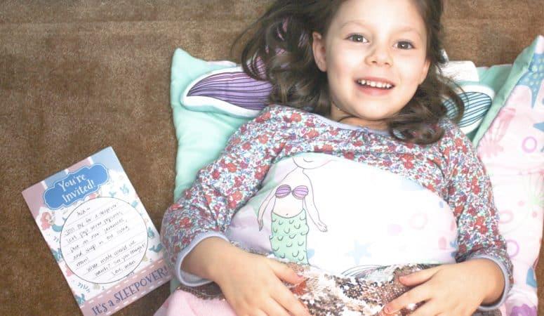 Perfect Gear for a Kids Sleepover: Plus Printable Sleepover Invitations!