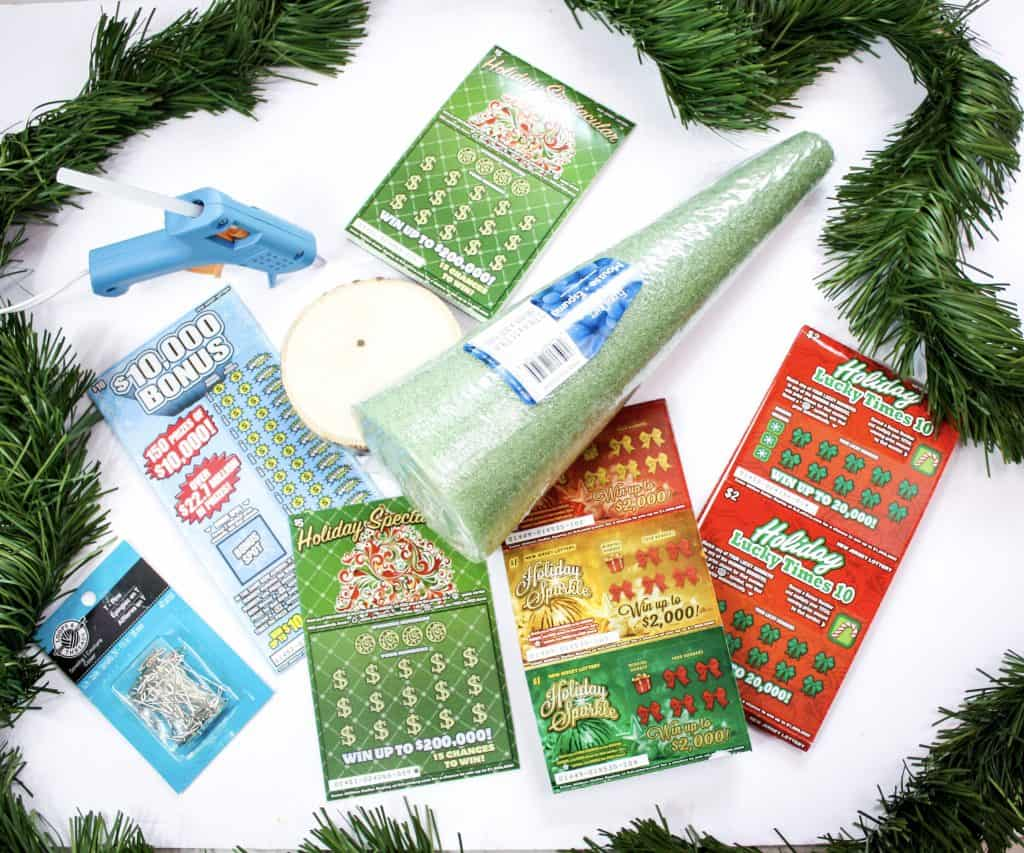 How To Make A Lottery Ticket Tree With The Nj Lottery For The Holidays