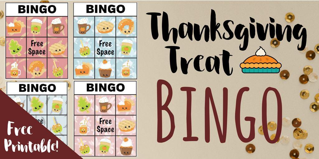 Free Printable Thanksgiving Bingo Game