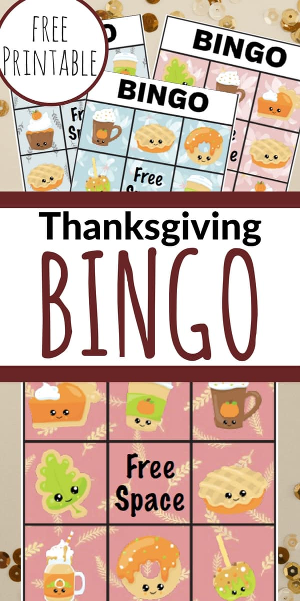 This printable Thanksgiving Bingo game is perfect for leading up to the big day, while cooking the turkey, or to have on the kids' Thanksgiving table!