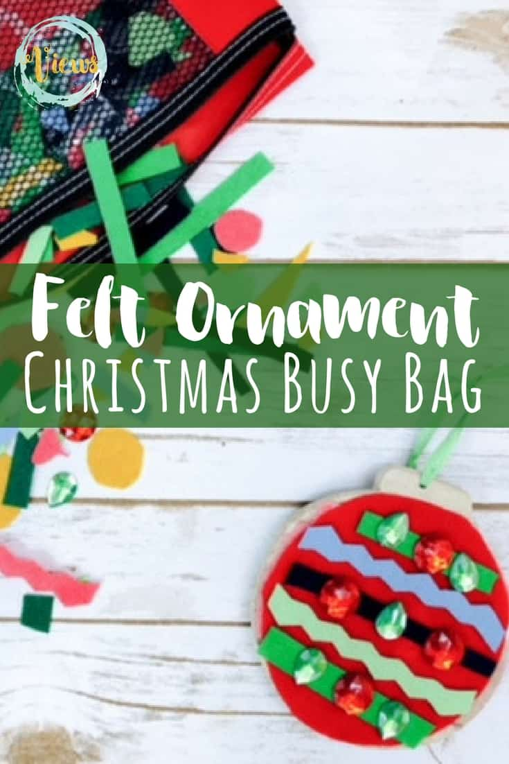 Felt Ornament Christmas Busy Bag